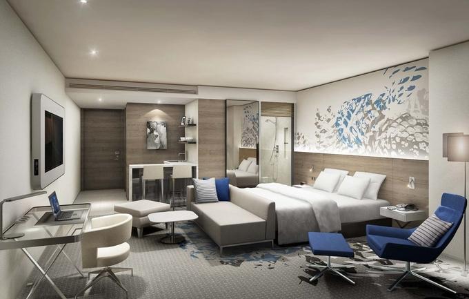 SDC Novotel Suites Room