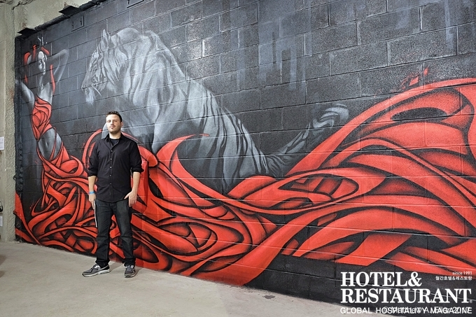 브루클린의 거리예술가, 짐머