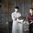 파라다이스 호텔 부산, 레스토랑 '닉스그릴'에 'AI 서빙로봇' 도입