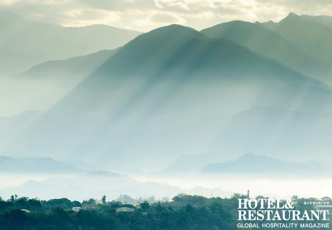 산악지대 섬_ 타이완